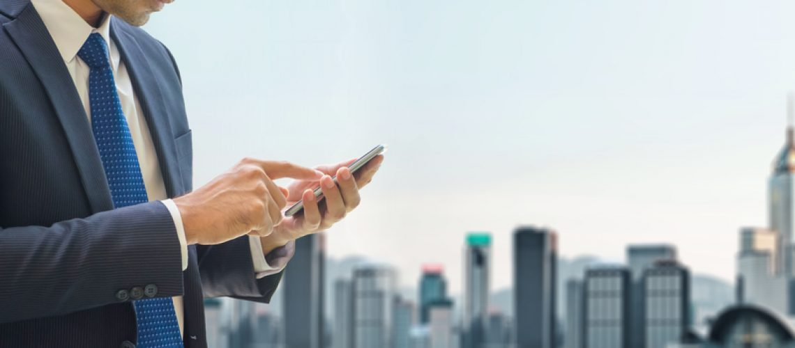 bussiness, phone, app, communication